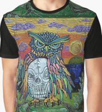 Sacred Skull Graphic T-Shirt