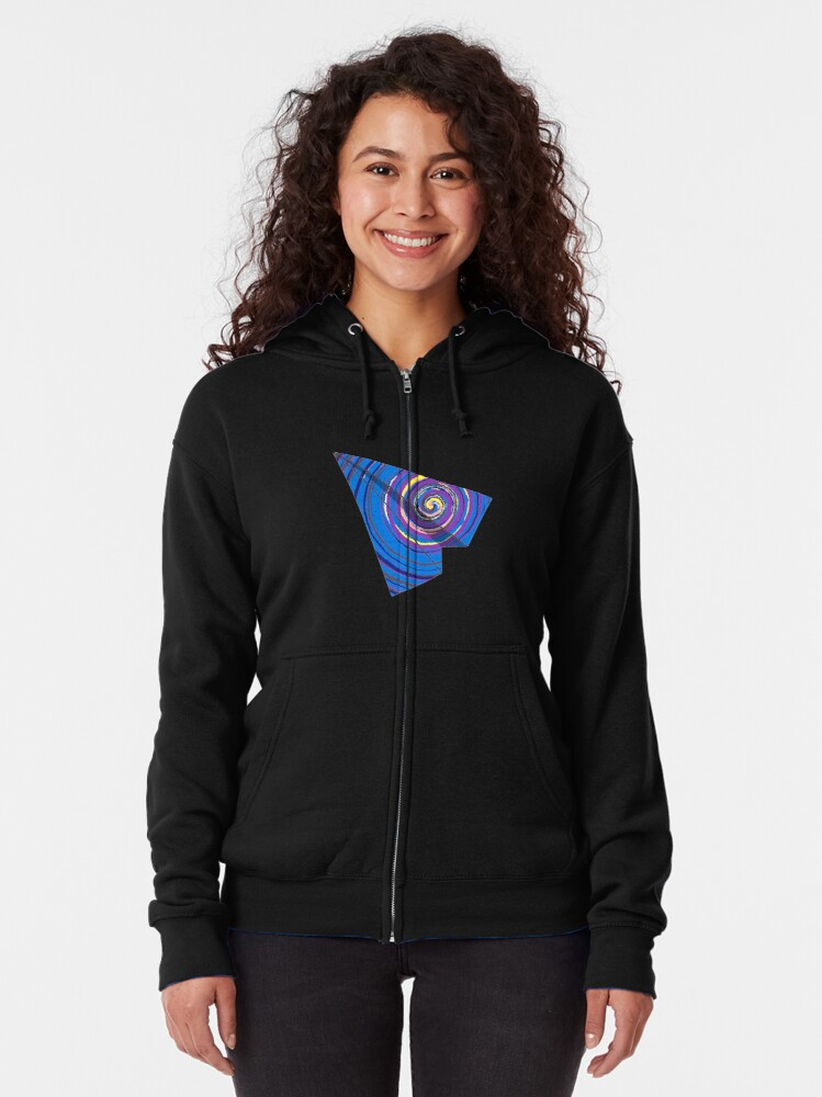 Alternate view of 2 - WINGS FOR FREEDOM Zipped Hoodie