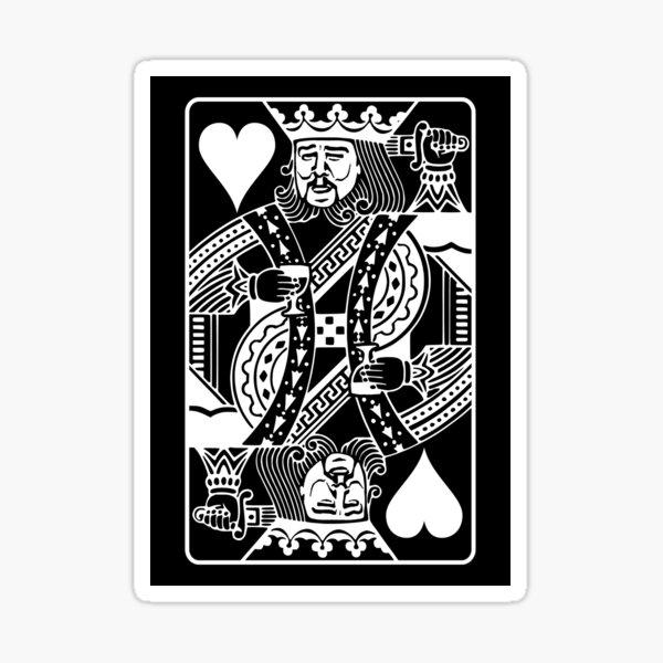 Leo Poker Face Sticker