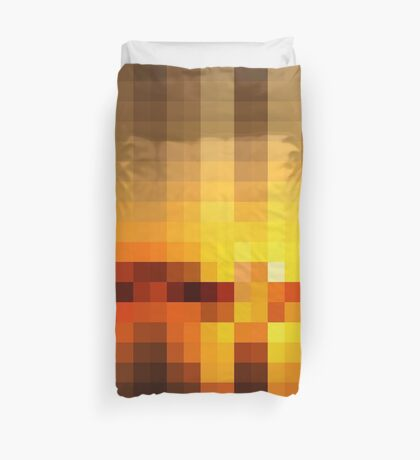 Nature Pixels No.19 Duvet Cover