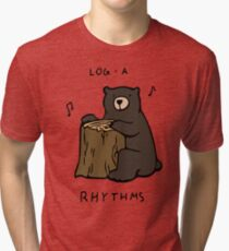 Log-a-Rhythms Tri-blend T-Shirt