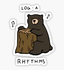 Log-a-Rhythms Sticker