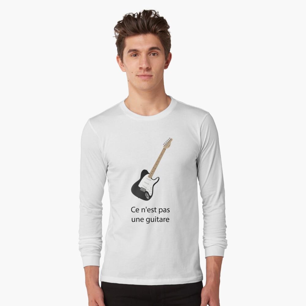 Ce n'est pas une guitare Long Sleeve T-Shirt