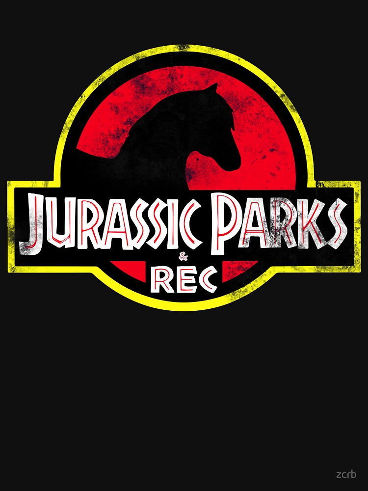 Jurassic Parks and Rec Distressed  | Unisex T-Shirt