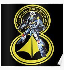 Skull Squadron Classic Poster