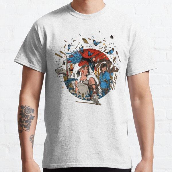 Blue T-shirt classique