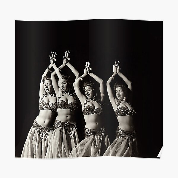 Samia Gamal The Belly Dancer  Poster