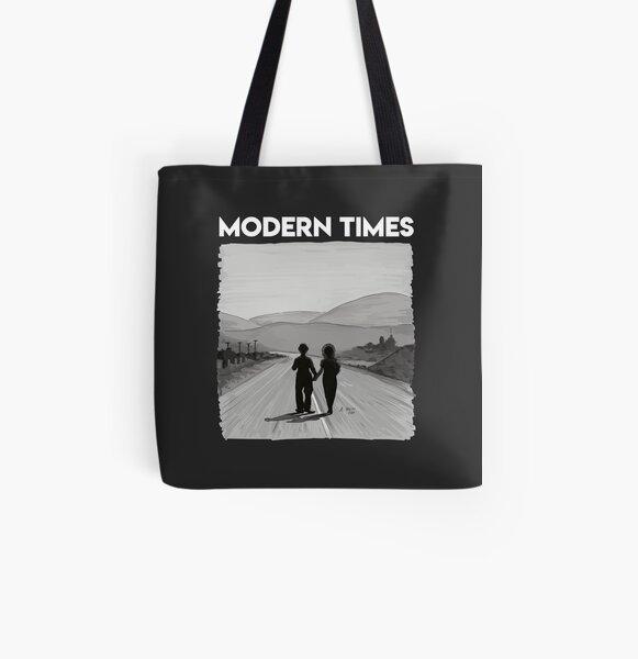 Charly Chaplin - Tiempos modernos Bolsa estampada de tela
