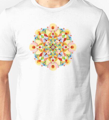 Rainbow Fiesta Mandala T-Shirt