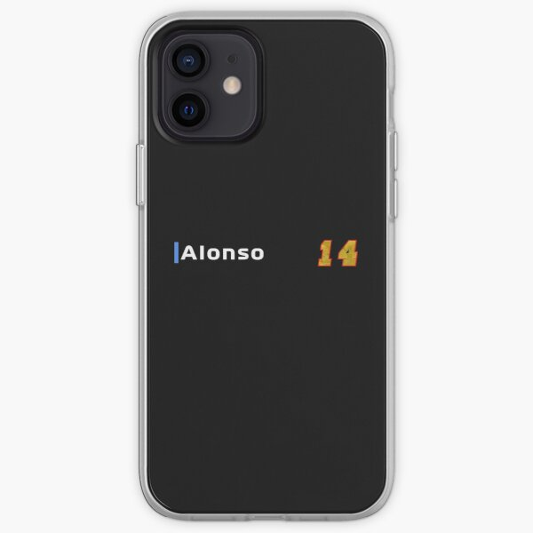Fernando Alonso 14 Coque souple iPhone
