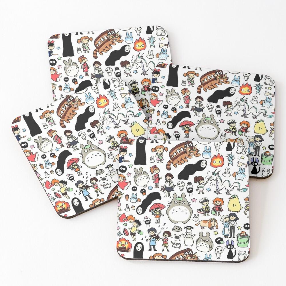 Cute Coasters (Set of 4)