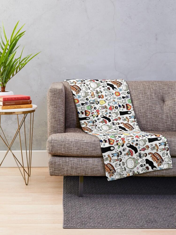 Alternate view of Cute Throw Blanket