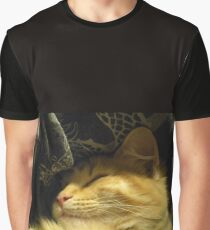 Golden Snuggle Graphic T-Shirt