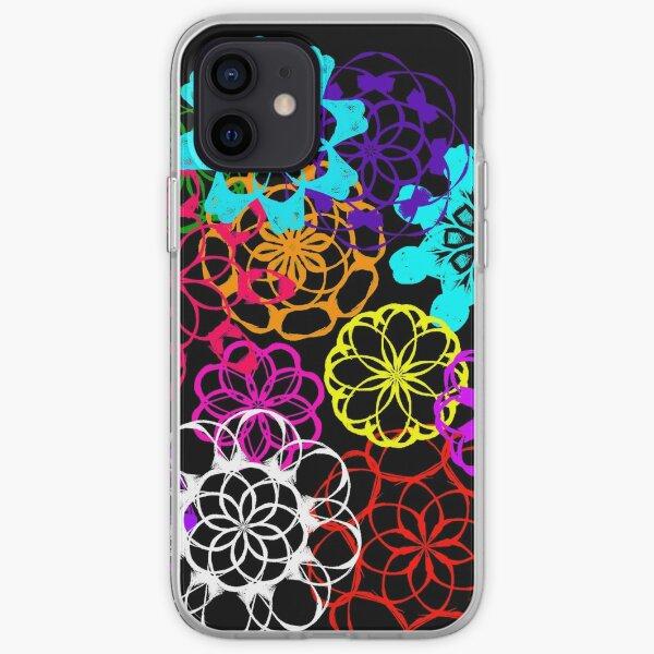 Mandala Doodle diseño Funda blanda para iPhone