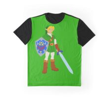 Ocarina of Time - Adult Link Graphic T-Shirt