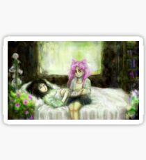 Hotaru & Chibiusa Hurt/Comfort Sticker