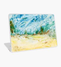 Atop the Dunes Encaustic Painting  Laptop Skin