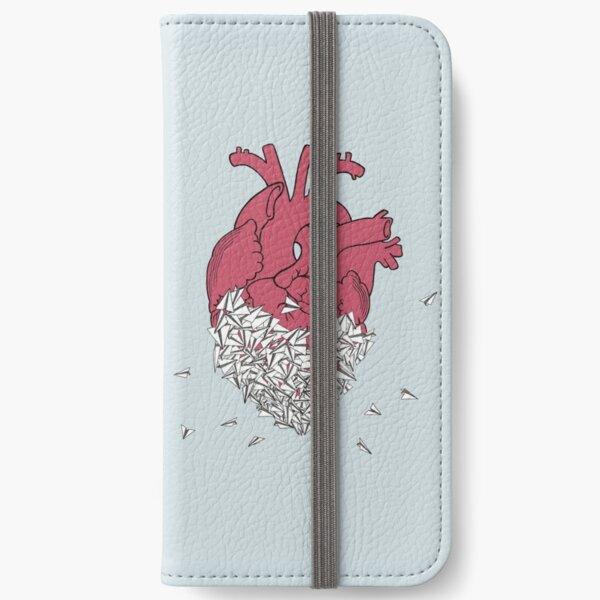 Heart-a-plane iPhone Wallet