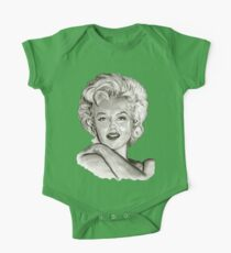 Marilyn in black and white Kids Clothes