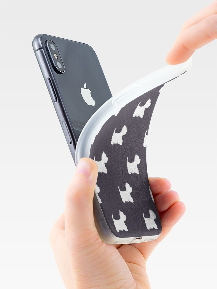 Alternate view of Westie iPhone Case & Cover
