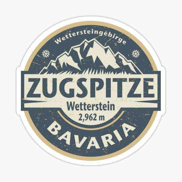 Zugspitze, Bavaria, Germany Sticker