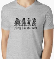 PartyLikeIt's1699 Men's V-Neck T-Shirt