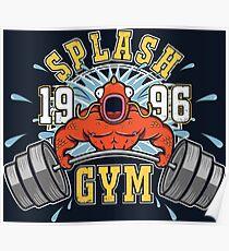 Splash Gym Poster