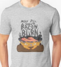 May All Your Bacon Burn Slim Fit T-Shirt