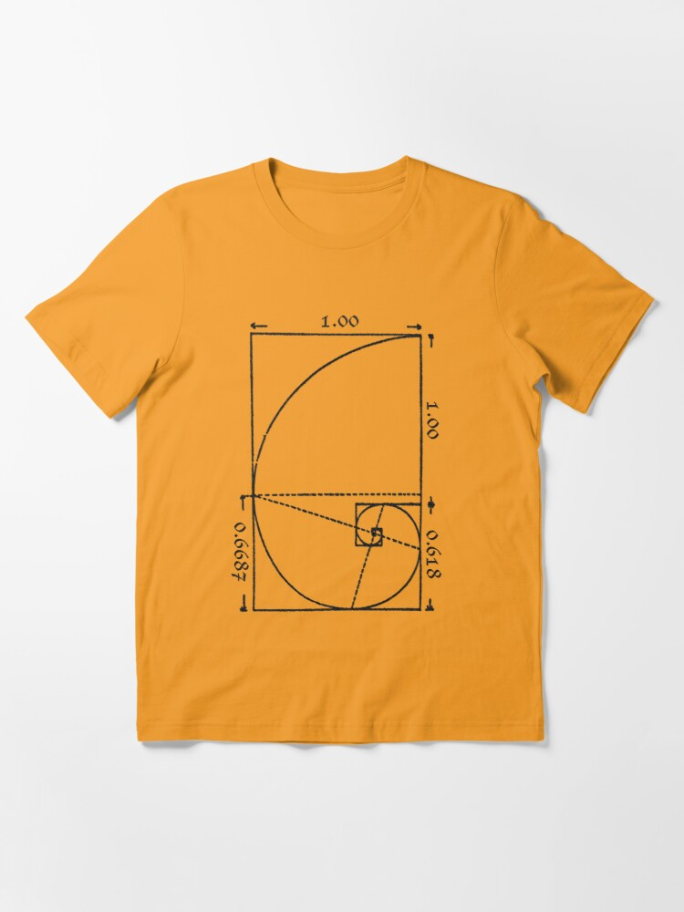 Alternate view of The Golden Spiral Essential T-Shirt