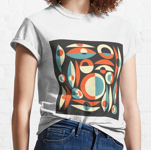 Retro Eames Era  Pisces Classic T-Shirt