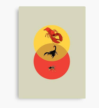 Pinchy and Stingy Canvas Print