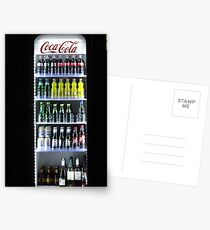 Soft Drinks Cabinet Postcards