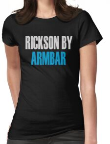 Rickson By Armbar (Brazilian Jiu Jitsu) Womens Fitted T-Shirt