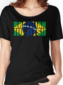Brazilian Jiu Jitsu Flag (BJJ) Women's Relaxed Fit T-Shirt