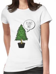 Plant More Trees Womens Fitted T-Shirt