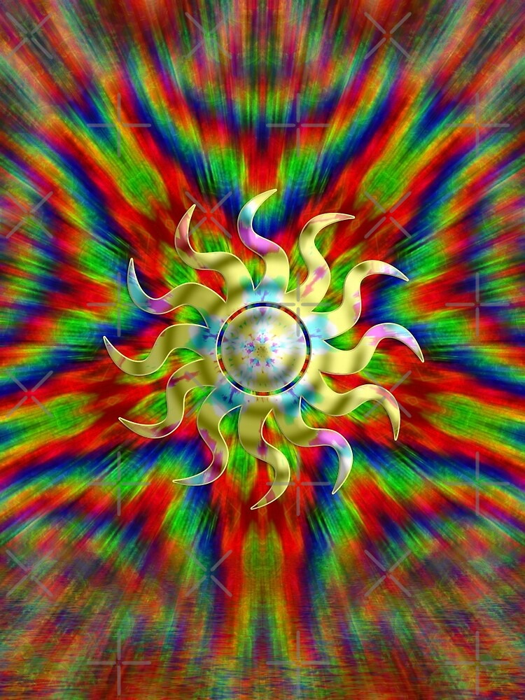 Psychedelic RAINBOW ENERGY by webgrrl