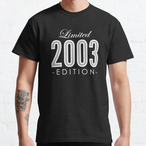 2003 Limited Edition Gift Classic T-Shirt