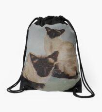 Charlie and Willow Drawstring Bag