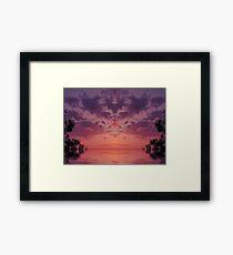 surrealism views Framed Print