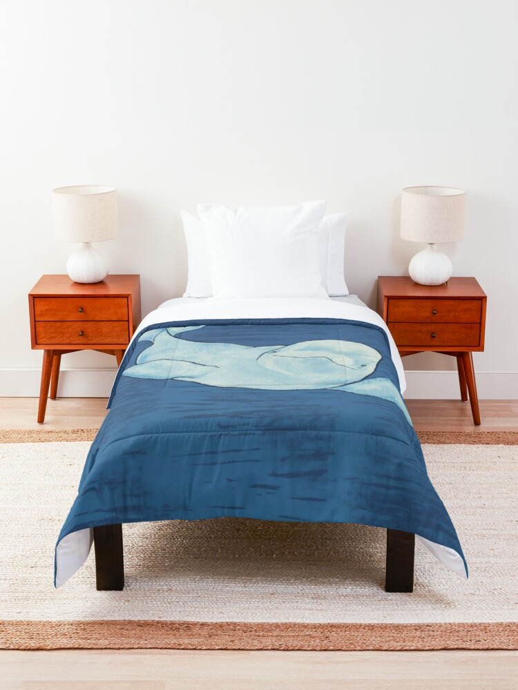 Alternate view of Beluga Wave Comforter