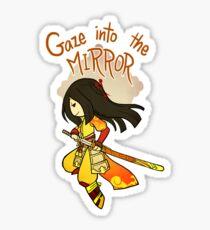 Smite - Gaze into the Mirror (Chibi) Sticker