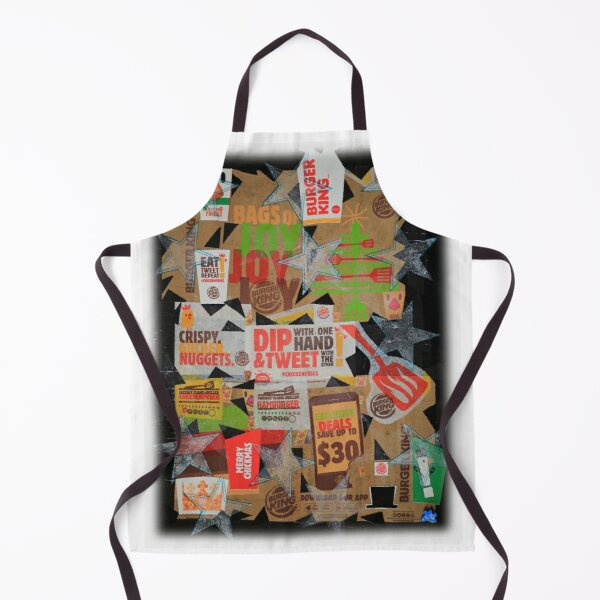 Burger King Part II - Food Series New Vision ´97 Apron