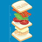 Anatomy of a Club Sandwich by Stephen Wildish