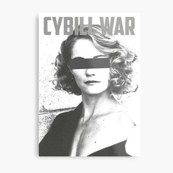 Cybill War Metallbild
