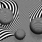 Abstract - Poke out my eyes by Michael Savad