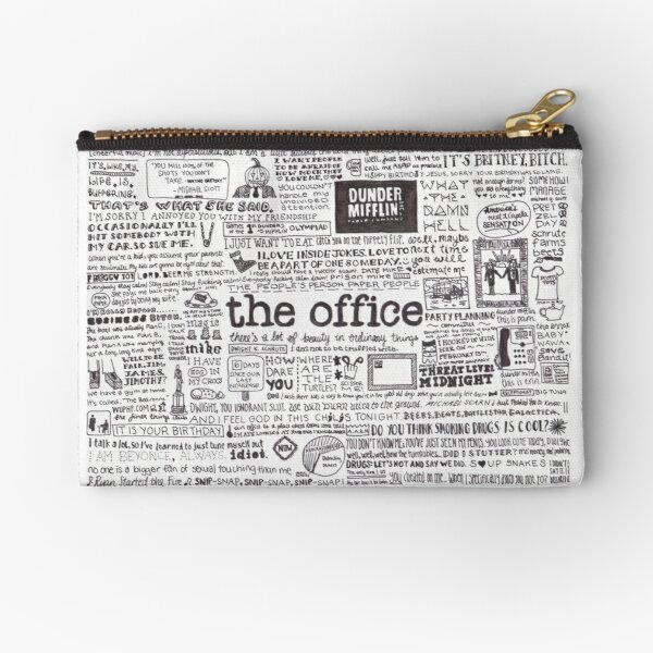 A Visual Representation of the Office Zipper Pouch
