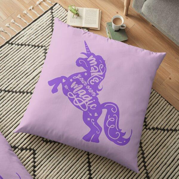 Make your own magic Floor Pillow