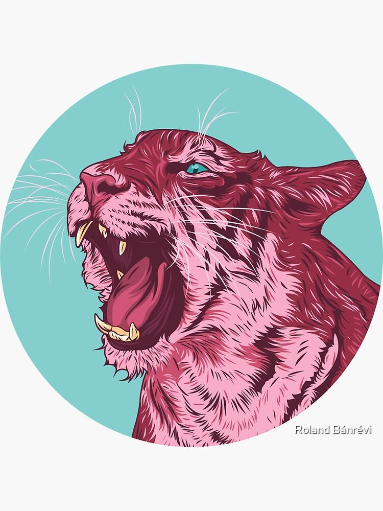 Magenta tiger by banrevi