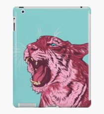 Magenta tiger iPad Case/Skin