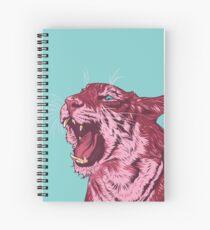 Magenta tiger Spiral Notebook